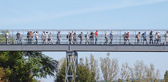 Festungsweg Eisenbrücke