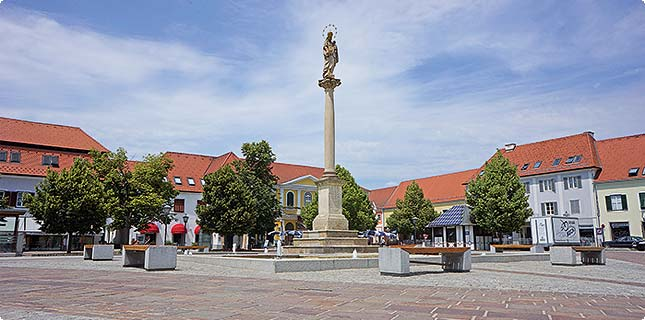 Mariensäule am Hauptplatz