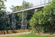 Großansicht Schlossbastei - Eisenbrücke